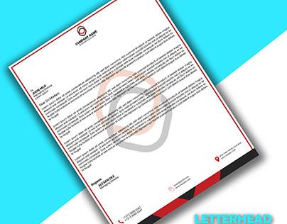 letterhead, post card design