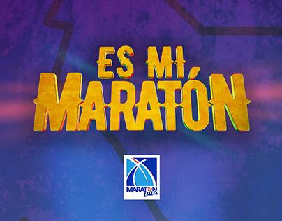Es mi Maratón, propuesta de imagen Maratón Lala 2019