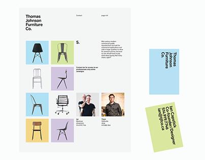 Thomas Johnson Furniture Co. - Identity