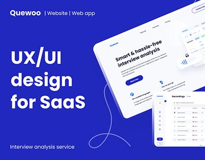UX/UI design for SaaS start-up