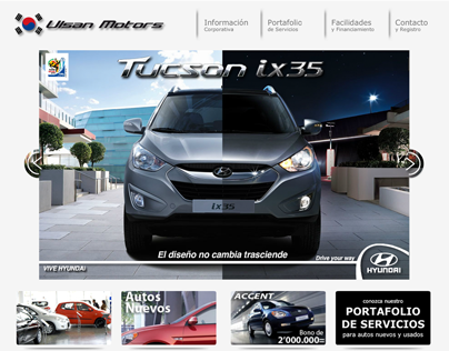 Web Ulsan Motors