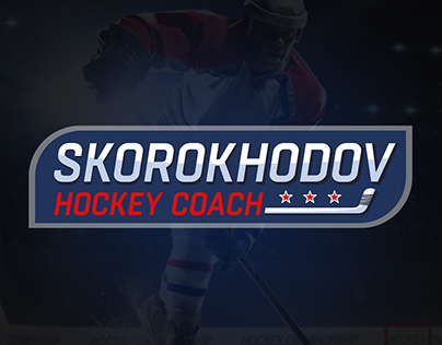 Hockey coach logo