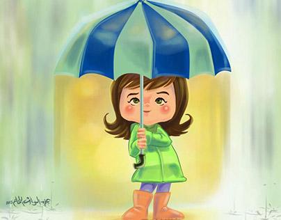 """""""Where Rain Comes From"""" Children's Book"""