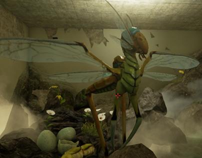 Creature Menagerie UE4 (3D Animation/game)