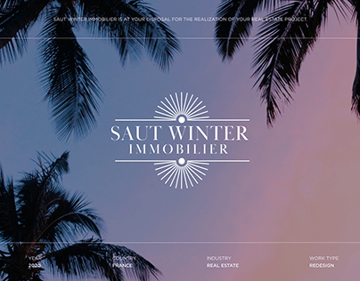Saut Winter Immobilier