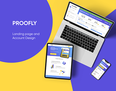 PROOFLY   Social Proof Widget   Landing Page & Account