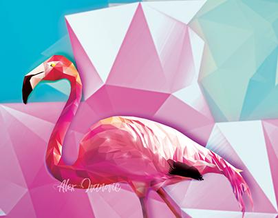Ringo the Polygonal Flamingo