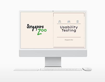 Singapore Zoo Usability Testing
