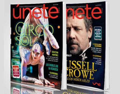 Únete, revista de entretenimiento / Entertainment mag.