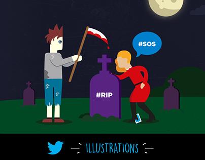 Twitter Illustrations