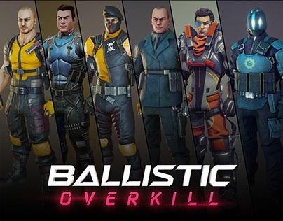 'Ballistic Overkill' 3D-Models (Aug 2012 - Aug 2014)