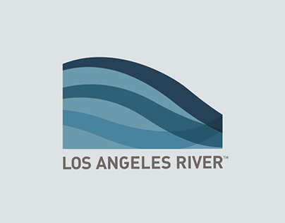 Los Angeles River Corporate Identity Concept