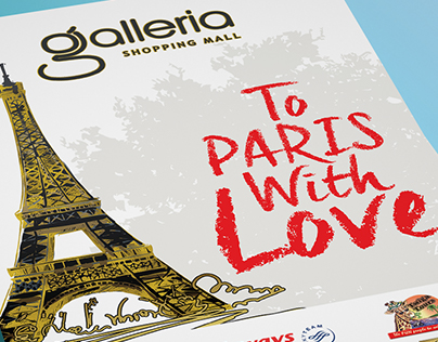 Galleria - To Paris With Love Valentine