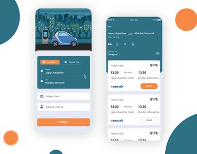 New Modern Taxi Booking App UI KIT PSD