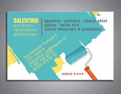 Carte De Visite Salentino