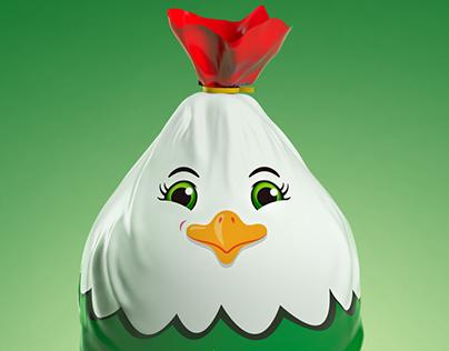 Wadifood Frozen chicken Packaging