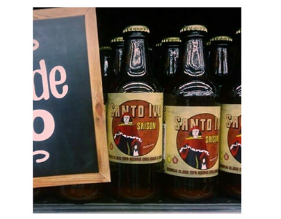 "Rótulo ""Cerveja Santo Ivo Saison"""