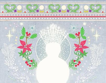 December Calendar Illust