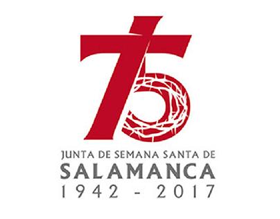 Logotipo 75 aniversario Semana Santa Salamanca