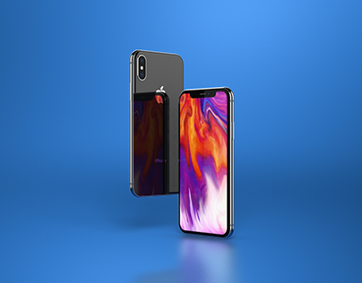 iPhone X Template