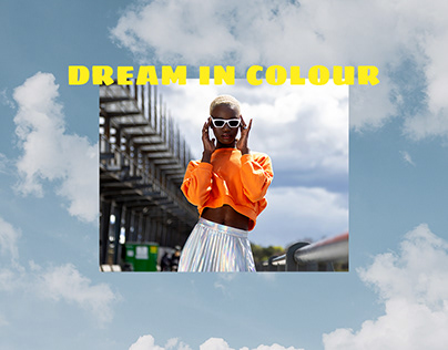 Fashion Stylist - DREAM IN COLOUR