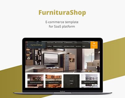 Furnitura shop/E-commerce template/Web design/UI/UX