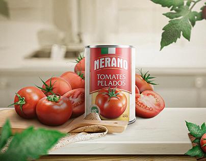 NERANO - Label Design + Ad Concept