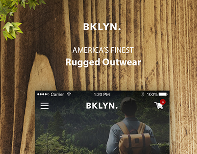 BKLYN. Shopify Theme for Mobile app