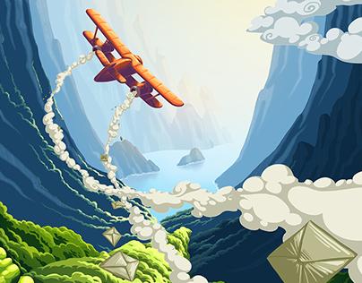 Postman Plane