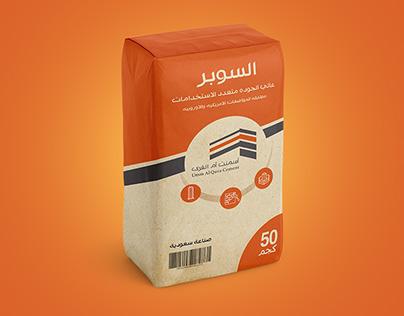 Super Cement Packaging Design