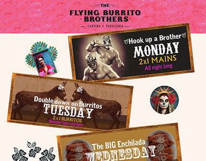 Promotional material for The Flying Burrito Brothers