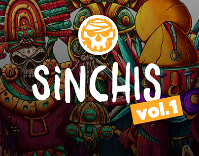 SINCHIS | VOL.1 | Character design