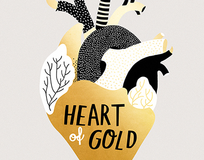 THE GOLDEN COLLECTION - gold foil prints