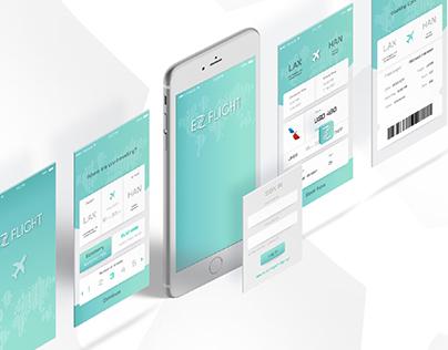 EZ Flight App UI