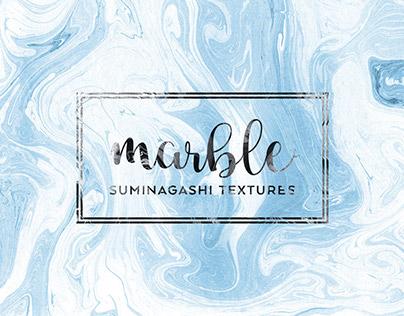 Suminagashi Marble Textures