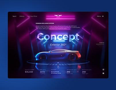 Genesis concept web