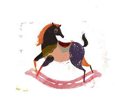 // rocking horse