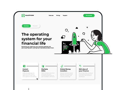 Blackthorn Finance Mobile Banking Identity and Web