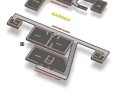 College Floor Plan