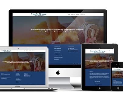 Web design - Inside Edge Talent Management