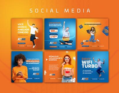 Social Media - Netmax Provedor