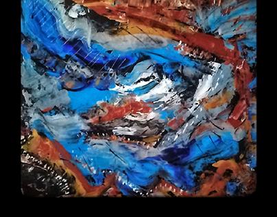 Painting Peinture acrylique