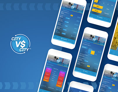 CityVSCity Mobile App | UI/UX