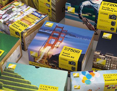 Nikon Europe Promo Kit Boxes