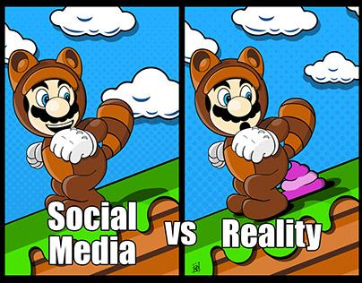 Social Media VS Reality
