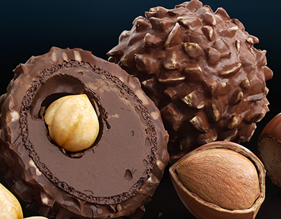 CGI Product Visualization - Ferrero Rocher