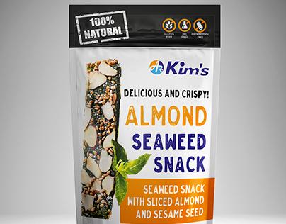 Kim's Snacks - Almond seaweed snack