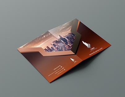 Folder design for Enshaa company