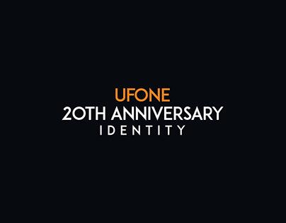 Ufone 20th Anniversary ID