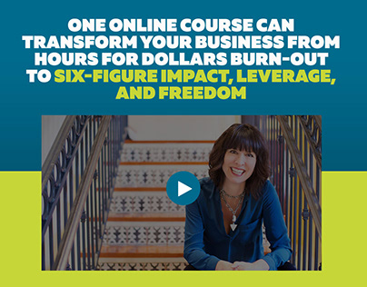 Jeanine Blackwell Click Funnels Landing Page